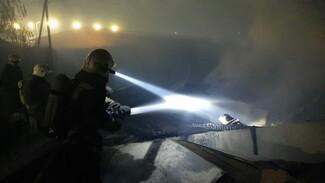 Под Воронежем едва не сгорел крахмальный завод