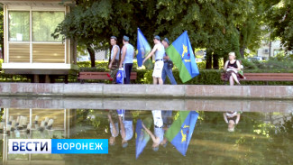 Фонтан в Кольцовском сквере Воронежа в День ВДВ всё-таки отключили