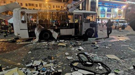 Взрыв на остановке и мощный пожар. Какие ЧП с маршрутками потрясли Воронеж в 2021 году