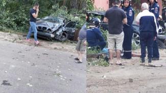 В Воронеже BMW сбил насмерть 40-летнего мужчину, стоявшего на обочине