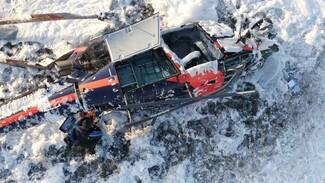 СК назвал возможные причины падения вертолёта под Воронежем