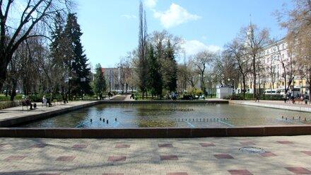 В Воронеже отключили фонтан в Кольцовском сквере