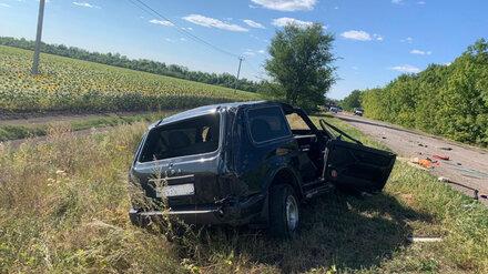 В Воронежской области в ДТП с перевёрнутым автомобилем погиб пассажир