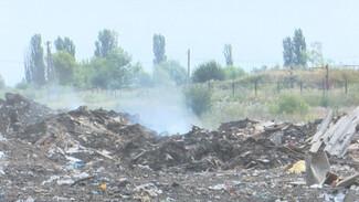 Жители воронежского райцентра вывозят мусор на незаконную свалку во время её ликвидации