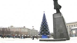 Губернатор подтвердил: воронежская ёлка – подарок мецената, не б/у и сделана по спецзаказу