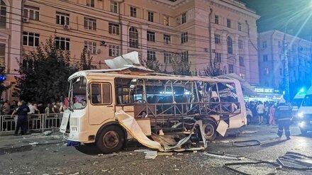 Появилась новая версия причины взрыва в воронежской маршрутке