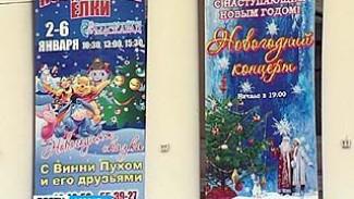 В Воронеже завершается подготовка к новогодним торжествам