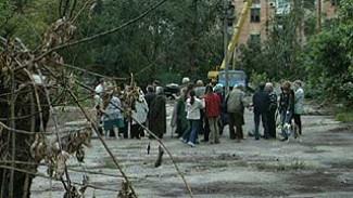 Не утихает конфликт вокруг строительства жилого дома на левом берегу Воронежа