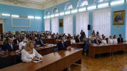Воронежский университет инженерных технологий отметил юбилей