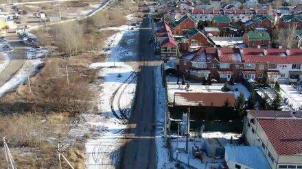 Власти потратят до 177 млн на альтернативную дорогу из воронежского Тенистого