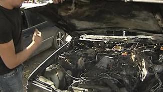 Сгорели ещё два автомобиля активистов «Дорожного контроля»