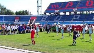 Детско-юношеские футбольные команды Воронежа сражаются за победу
