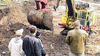 Возобновилось строительство в парке живых и мертвых