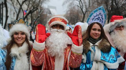 В Воронеже назвали дату проведения юбилейного парада Дедов Морозов и Снегурочек