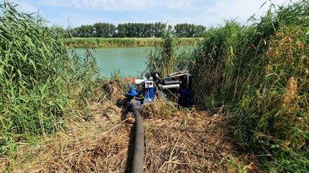 Воронежские власти пообещали помешать осушению захваченной фермером реки Красной