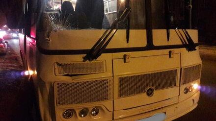 В Воронеже пассажирский автобус насмерть сбил пешехода