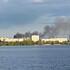 Пожар на Левом берегу напугал воронежцев