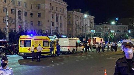 В Воронеже один из тяжелораненых пассажиров взорвавшейся маршрутки пошёл на поправку