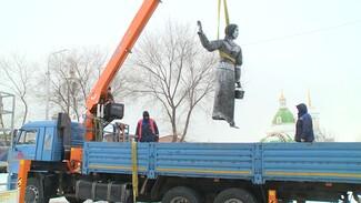 Постапокалиптичная Алёнка переедет в парк скульптур воронежского бизнесмена