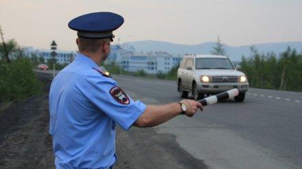 ГИБДД вновь предупредила воронежских водителей о массовых проверках