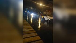 Последствия массового ДТП с такси в Воронеже сняли на видео