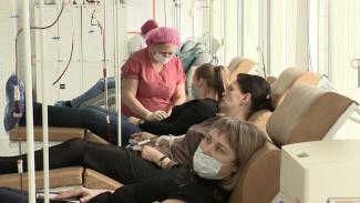 Воронежских доноров попросили записываться заранее записаться на сдачу крови