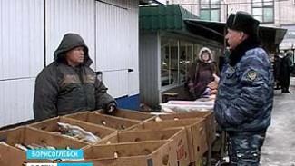 На борисоглебском рынке продавали заражённую рыбу