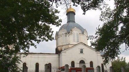 Воронежские власти открестились от ремонта сгоревшей во время грозы старинной церкви