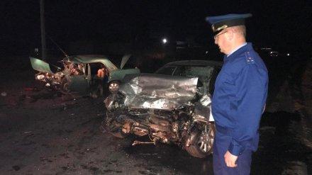 В Воронежской области возбудили дело после устроенного полицейским ДТП с 5 погибшими