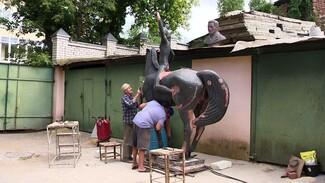В Воронеже отреставрируют скульптуру горниста из «Орлёнка»