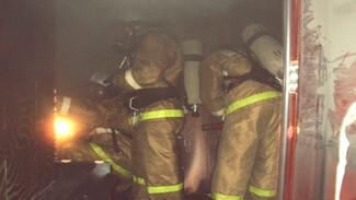 В Воронежской области при пожаре в заброшенном доме погиб мужчина