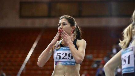 Воронежская бегунья стала двукратным победителем Чемпионата России