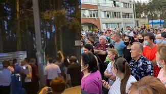 В Воронеже часть защитников Северного леса осудила снос забора в лесопарке