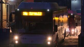 На улицы Воронежа вышли ещё 15 низкопольных больших автобусов