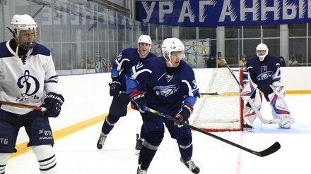 В Нововоронеже прошёл товарищеский матч Высшей хоккейной лиги