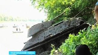 Под Воронежем из реки Дон достали последний сохранившийся экземпляр танка Т-34