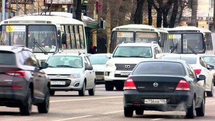 С 1 апреля в Воронеже закроют 16 маршрутов
