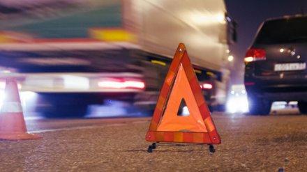 В ДТП на перекрёстке в Воронежской области один человек погиб и один пострадал