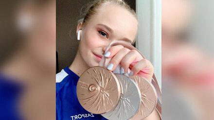 Воронежская гимнастка взяла третью медаль на чемпионате мира