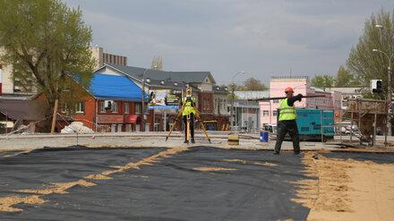 Воронежские дорожники приготовились к укладке асфальта на новом виадуке у «Работницы»