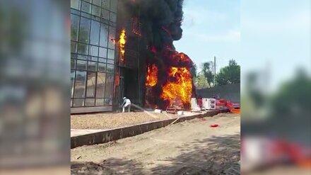 Строитель воронежского ЖК Atlantis о пожаре: «При эвакуации в подвале забыли людей»