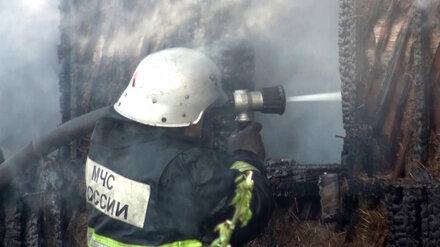 В Воронежской области при пожаре в дачном доме погиб мужчина