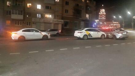 Пьяный автомобилист спровоцировал массовое ДТП в центре Воронежа