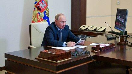 Президент встретился с лидерами федерального списка «Единой России» на выборах в Госдуму
