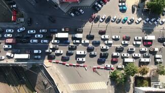 Воронежских автомобилистов на 3,5 месяца лишат полосы на виадуке у «Работницы»