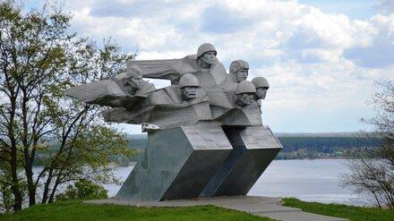 В Воронеже ко Дню Победы отреставрировали Шиловский плацдарм