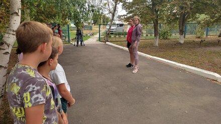 Известная российская гимнастка провела разминку с воронежскими детьми