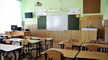 В воронежской школе объявили досрочные каникулы из-за коммунальной аварии