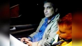 В Воронеже обнародовали видео с уснувшим за рулём «безопасником» из полиции