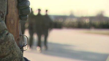На воронежском Погоново военнослужащего нашли застреленным